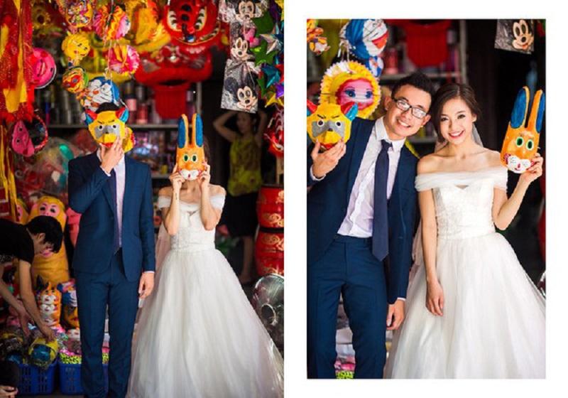 """Những địa điểm chụp ảnh cưới đang gây """"sốt"""" tại Hà Nội"""